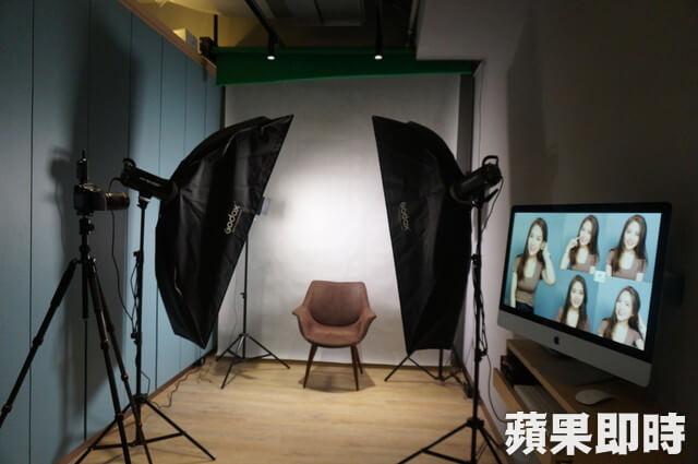 劉得廷醫師-台中全瓷冠推薦-媒體報導-診所內附有專業攝影棚